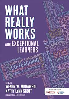 What Really Works With Exceptional Learners Book