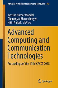 Advanced Computing and Communication Technologies PDF