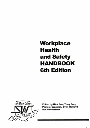 Workplace Health and Safety Handbook
