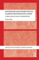 Nationalism and Power Politics in Japan s Relations with China PDF