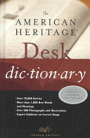 The American Heritage Desk Dictionary PDF