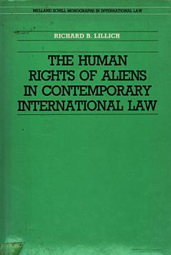The Human Rights of Aliens in Contemporary International Law PDF