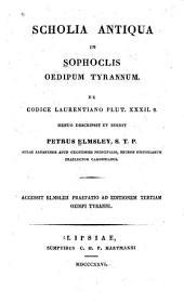 Scholia antiqua in Sophoclis Oedipum tyrannum