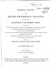 A General History of the Dichlamydeous Plants: Volume 3