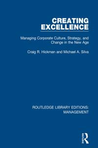 Creating Excellence Book