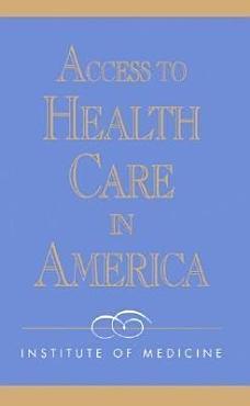Access to Health Care in America PDF