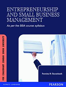 Entrepreneurship Development and Small Business Enterprises  For Chaudhary Charan Singh University PDF