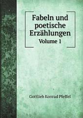 Fabeln und poetische Erz?hlungen