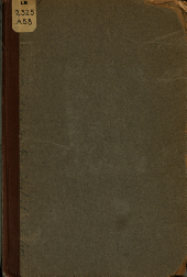 The Old and New Ideal of Scholars: A Baccalaureate Address Delivered June 18, 1905
