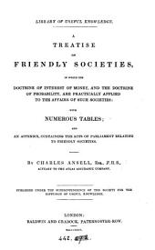 A treatise on friendly societies