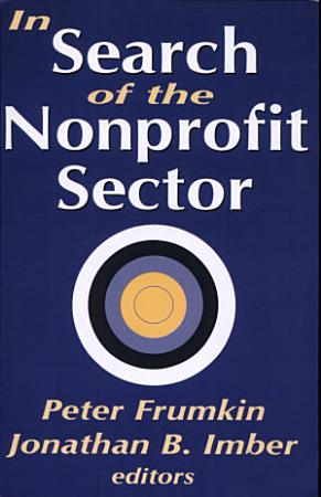 In Search of the Nonprofit Sector PDF