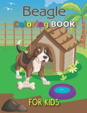 Beagle Coloring Book For Kids