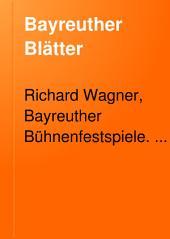 Bayreuther Blätter