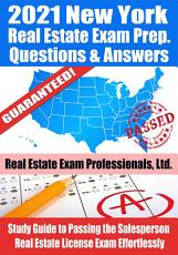 2021 New York Real Estate Exam Prep Questions   Answers PDF