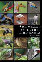 Helm Dictionary of Scientific Bird Names PDF