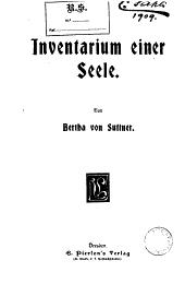 Inventarium einer Seele