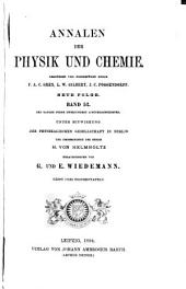 Annalen der Physik und Chemie: Band 52