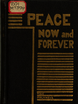 Peace Now and Forever PDF