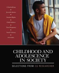 Childhood And Adolescence In Society Book PDF