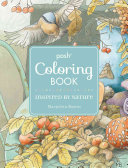 Posh Adult Coloring Book  Inspired by Nature