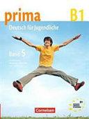 Prima   Deutsch f  r Jugendliche  B1   5    Hauptbd   PDF