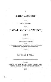 A journal of the most remarkable occurrences that took place in Rome upon the subversion of the ecclesiastical government in 1798