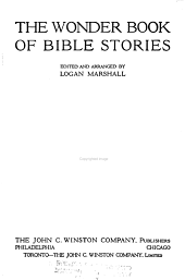 The Wonder Book of Bible Stories