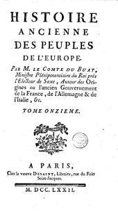 Histoire ancienne des peuples de l'Europe: Volume11
