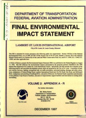 Lambert St  Louis International Airport Improvements  St  Louis County