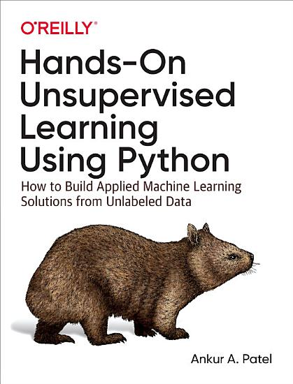 Hands On Unsupervised Learning Using Python PDF