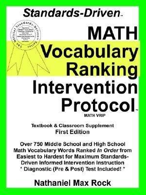 Standards Driven Math Vocabulary Ranking PDF