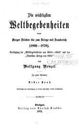 Geschichte der Neuzeit: vom Beginn der französischen Revolution bis zur Wiederherstellung des deutschen Reichs, 1789-1871, Band 10