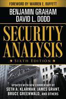 Security Analysis  Sixth Edition  Foreword by Warren Buffett PDF
