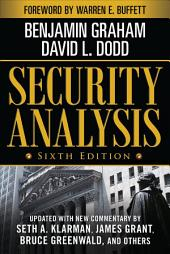Security Analysis: Sixth Edition, Foreword by Warren Buffett: Edition 6