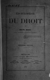 Encyclopédie du droit