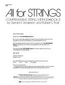 All for Strings PDF
