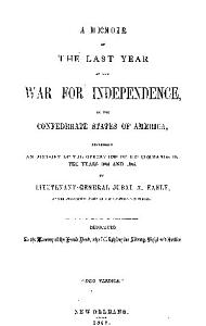 A Memoir of the Last Year of the War For Independence Book