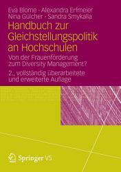 Handbuch zur Gleichstellungspolitik an Hochschulen PDF