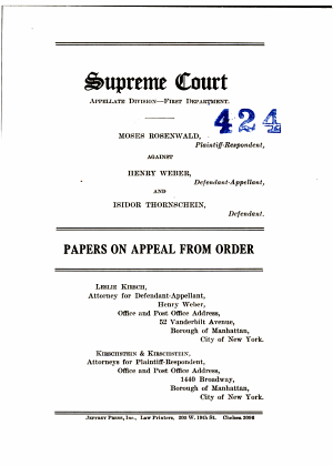 Supreme Court Appellate Division First Department PDF