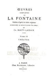 Œuvres complètes ...: Théâtre