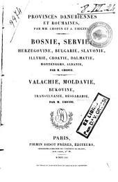 Provinces danubiennes et roumaines: Volume1