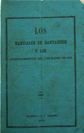 Los radicales de Santander y los acontecimientos del 2 de marzo de 1879