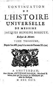 Discours sur l'histoire universelle: pour expliquer la suite de la religion & les changemens des empires ...