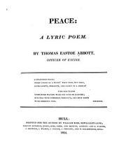 Peace: A Lyric Poem