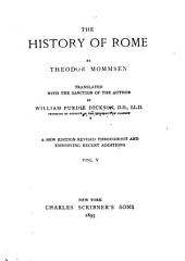 The History of Rome: Volume 5
