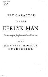 Het caracter van een eerlyk man