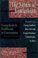 The Nature of Confession PDF