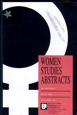 Women Studies Abstracts