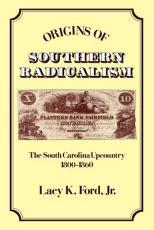Origins of Southern Radicalism PDF