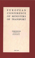 European Conference of Ministers of Transport  Thirteenth Annual Report PDF